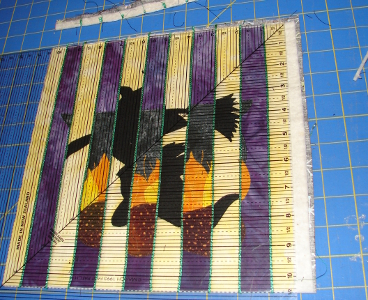 squaring up block with large ruler