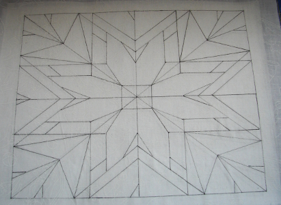 all lines of design drawn with pigma pen