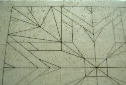 drawing lines with pigma pen
