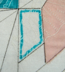 start painting with an outline inside the edge