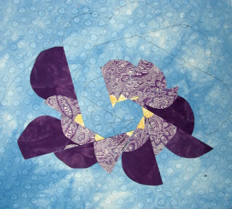 larger quilting designs to continue design