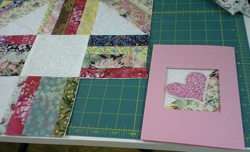 Barbara's fabric card