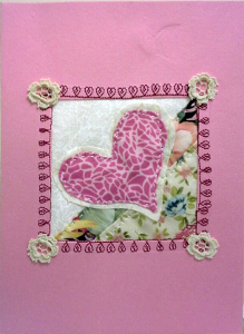 Barbara's card for February blog challenge