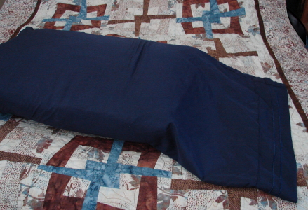 navy pillow slip extended