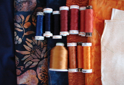 threads to match fabrics