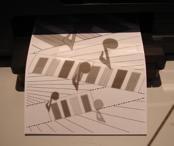 printed templates for foundation piecing
