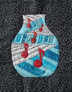 quilting and applique stitching
