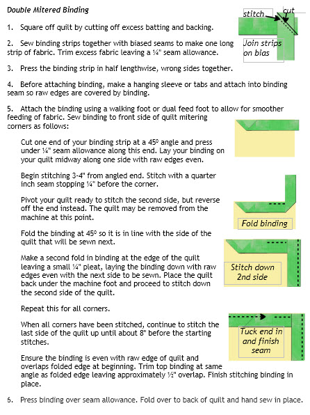 double binding instructions - click for pdf
