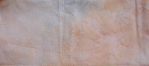 cream with hint of blue fabric