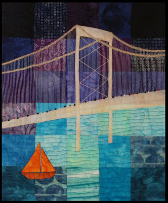 bay bridge san francisco challenge quilt