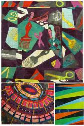 Elizabeth Barton's online workshop - Abstract Art For Quiltmakers