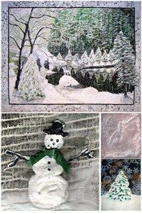 Linda Schmidt's Winter Wonderland online workshop