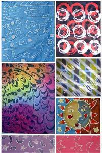 Marjorie McWilliams batik online workshop