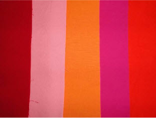 """marker mania"" by Pat Daniels - plain colored fabric"
