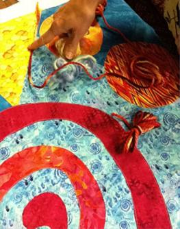 stitching almost any design together using Rose's Fast-Piece Applique methods