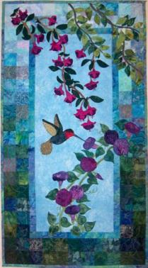 midsummer an applique quilt