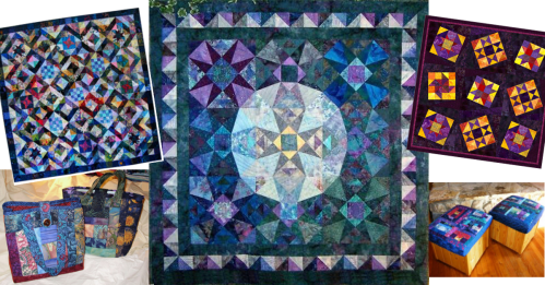 samplers settings & scraps, projects for this online class by Susan Brittingham