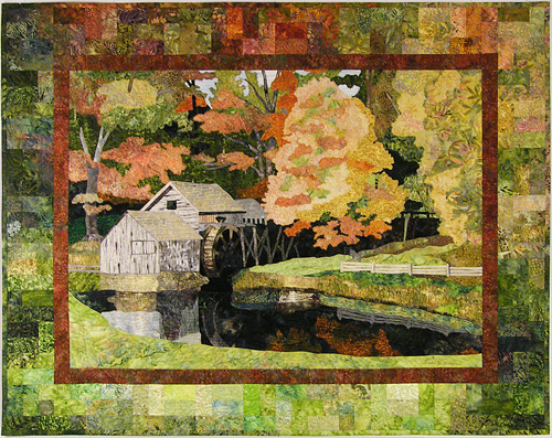 mabry mill quilt by Susan Brittingham