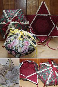 "Barbara Dieges' online workshop ""Victorian Sewing Box"""