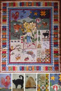 """Ruth Blanchet's online workshop """"A Day In The Country"""""""