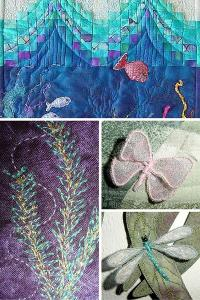 "Ruth Blanchet's online workshop ""Pacific Aquarium"""