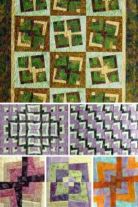 "Ruth Blanchet's online workshop ""Patchwork with a Twist"""