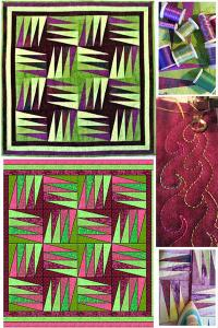 "Daphne Greig's online workshop ""ripless paper piecing"""