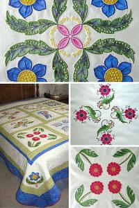 "Joanne Winn's online workshop ""Embroidery on Applique"""