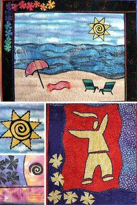 "Michele Scott's online workshop ""Using Fusing to Express Yourself"""