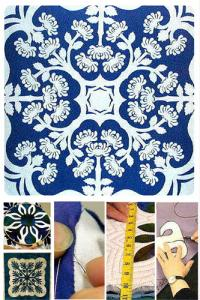 "Nancy Chong's online workshop ""make your own hawaiian quilt"""
