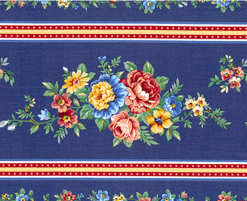 Floral Motif which can be used for Broderie Perse