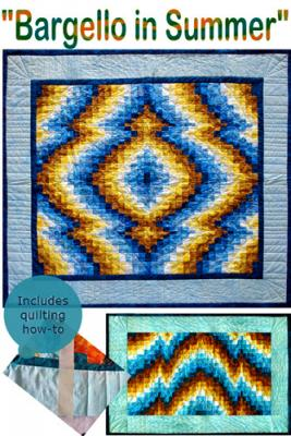 bargello in summer - quilt pattern for beginners