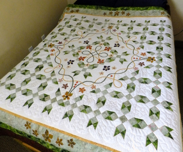 How to Sew a Double Irish Chain Quilt | eHow