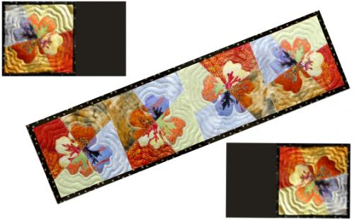 changing seasons - table runner and placemats