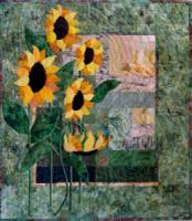 Simply sunflowers - original sunflower quilt